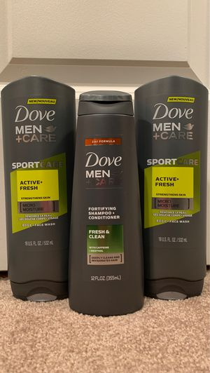 **not available** Dove men set: 3 for $10 for Sale in Alexandria, VA