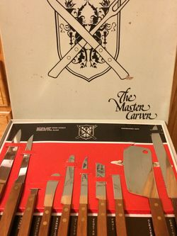 The Master Carver Knife Set (Vintage) for Sale in Pittsburgh,  PA