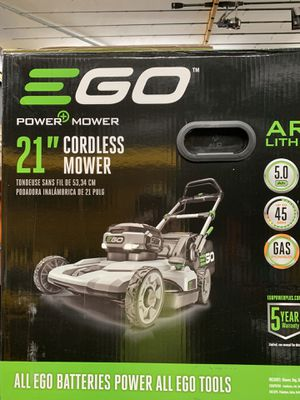 "Ego 56v cordless lawnmower 21"" for Sale in Norridge, IL"