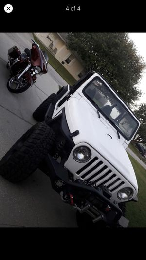 "35"" tires 20"" wheels and Jeep Wrangler parts FS for Sale in Winter Haven, FL"