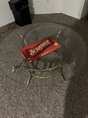 Glass table for Sale in Canton, MI