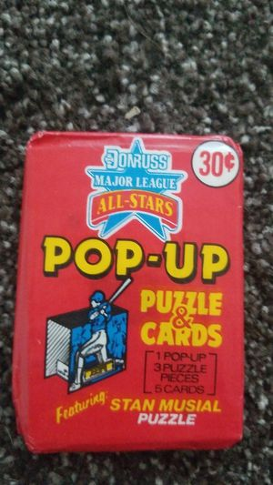 1987 Donruss collector cards for Sale in Campbell, CA