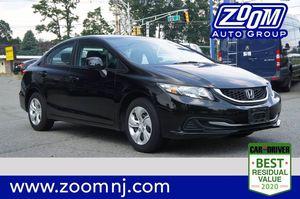 2013 Honda Civic Sdn for Sale in Parsippany, NJ