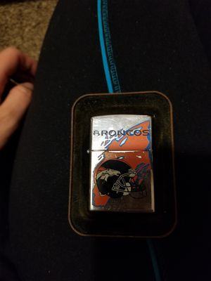 Broncos Zippo never used for Sale in Westminster, CO
