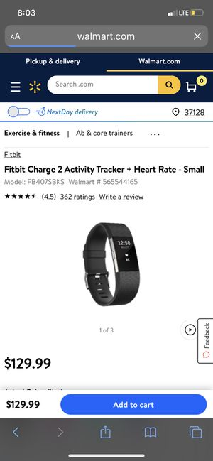 Fitbit Charge 2 comes with charger for Sale in Nashville, TN