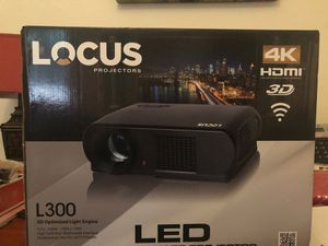 Locus Projector 4K- Brand New in Box-Never Opened for Sale in San Antonio, TX