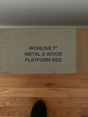 Platform Queen sized bed Bed frame for Sale in Philadelphia, PA