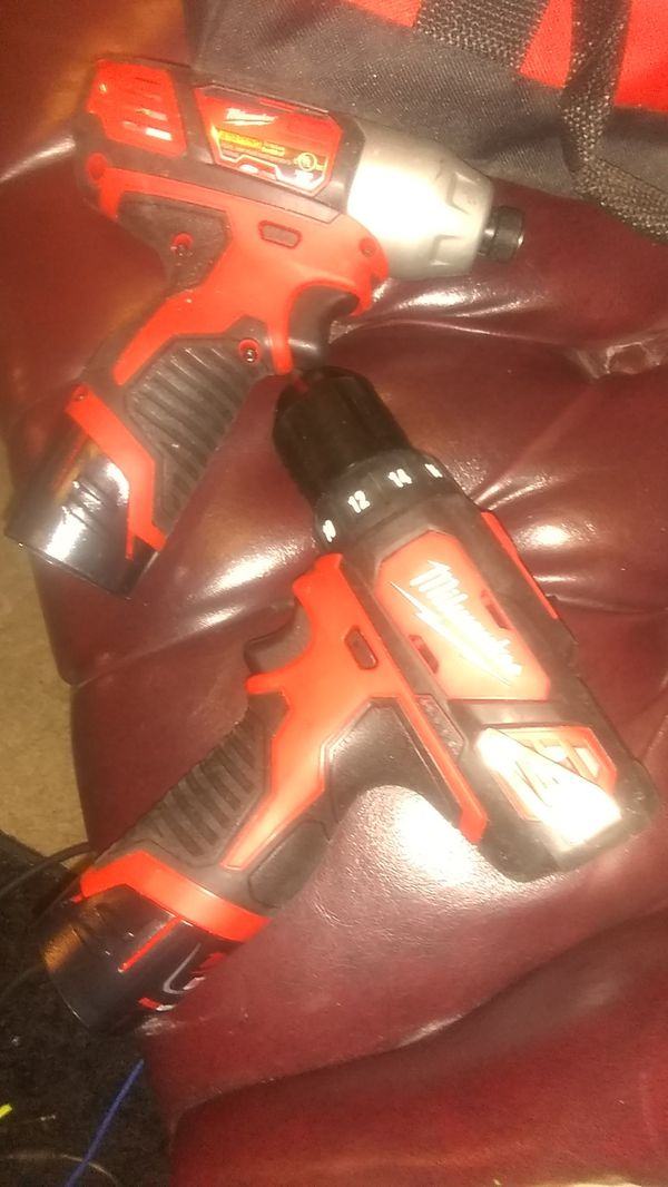 M12 impact and hammer drill