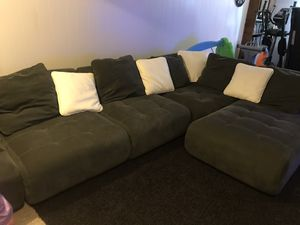 Dark Gray Sectional for Sale in Noblestown, PA