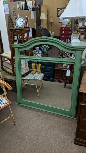 Distressed Beveled Wall Hanging Mirror for Sale in Mesa, AZ