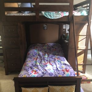 Bunk Bed With Storage & Desk Included for Sale in Andover, MA
