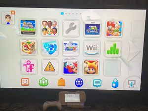 Nintendo WII U with 7 games and extra controller!! for Sale in Grand Prairie, TX