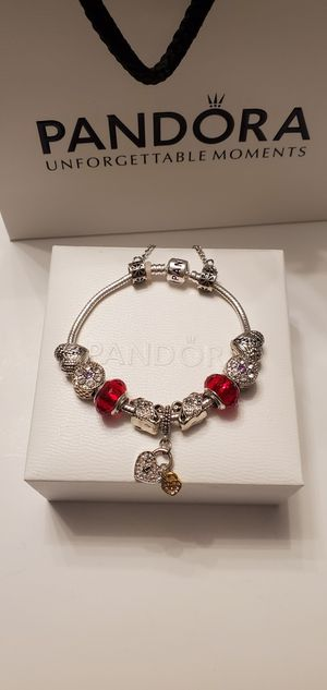 Pandora Charm Bracelet with Charms for Sale in Indianapolis, IN