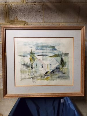 Signed ORIGINAL WATERCOLOR PAINTING - firm price. for Sale in Arlington, VA