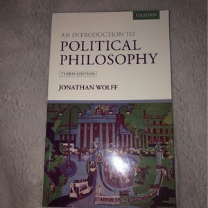 An Introduction To Political Philosophy for Sale in El Sobrante, CA