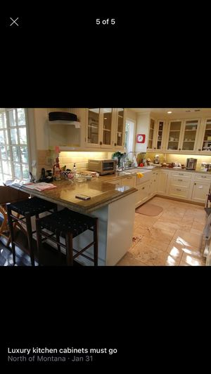 Kitchen cabinets only for Sale in Los Angeles, CA