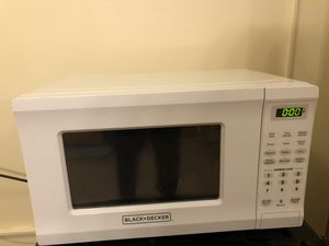 Black & Decker Microwave for Sale in Silver Spring, MD