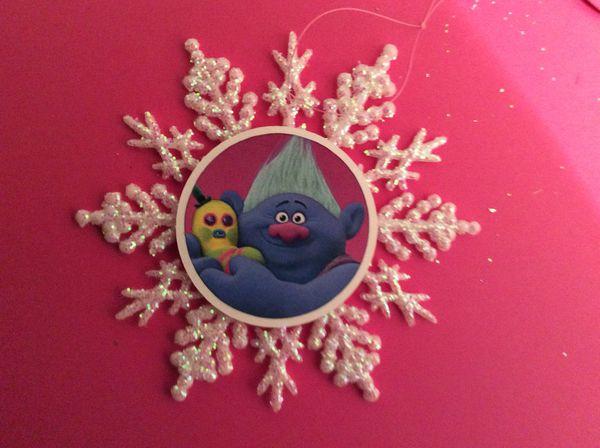 Trolls Biggie Ornament NEW