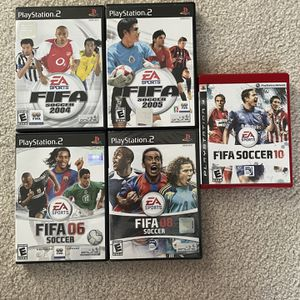 PS2 FIFA Soccer Collection and PS3 FIFA 2010 for Sale in Allen, TX