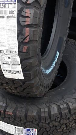 4-31x1050rx15 Bf Goodrich Tires New $650 for Sale in Menifee,  CA