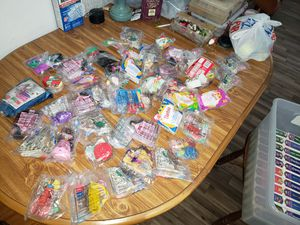 Miscellaneous McDonald's toys and replica figurines to Disney movies for Sale in Cypress, TX