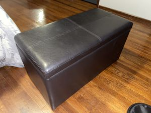 Futon with Storage space - Brown for Sale in Los Angeles, CA