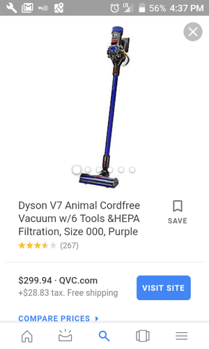 Dyson v7 Cordless Vaccum for Sale in Florissant, MO