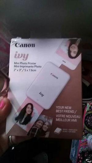 Cannon ivy mini mobile printer for Sale in Amarillo, TX