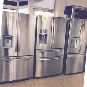 We Have NEW and Used French Door Refrigerators- $39 Down! for Sale in Atlanta, GA