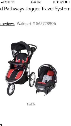 Baby trend jogging travel system for Sale in Lubbock, TX
