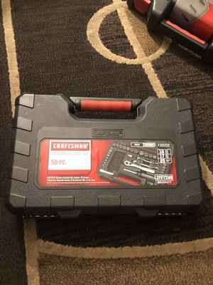 Craftsman 58 pc tool set for Sale in Cudahy, CA