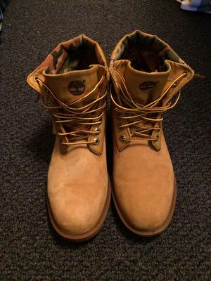 Size 10.5 Waterproof Timberland Boots NEGOTIABLE for Sale in Fairfax, VA
