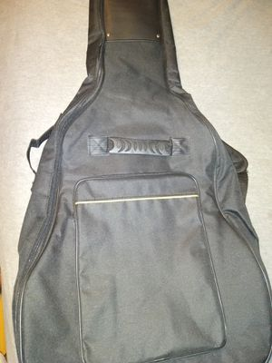 Acoustic guitar backpack style gig bag padded for Sale in Port Richey, FL