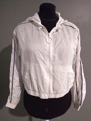 ***WOMEN'S FOREVER 21 MEDIUM WHITE JACKET!*** for Sale in Dallas, TX