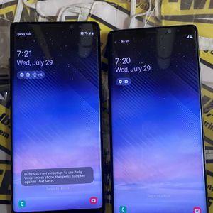 Samsung galaxy note 8 (64gb) unlocked, store warranty $230 each for Sale in Boston, MA