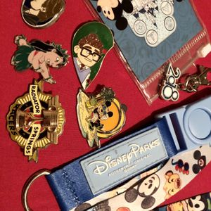 Authentic Disney Pins/Lanyard for Sale in Long Beach, CA