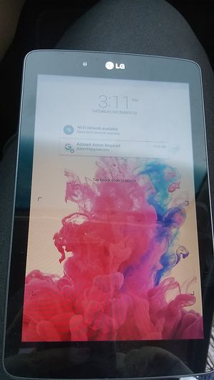 Lg tablet 20$ for Sale in Greenville, MS