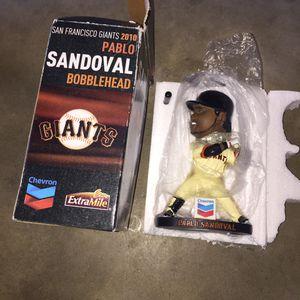 Pablo Sandoval Bobblehead for Sale in Modesto, CA