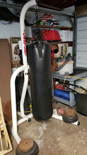 Punching bag with stand for Sale in Burbank, IL