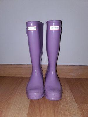 Hunter Rain Boots fits like 6 - 6.5 for Sale in Mukilteo, WA