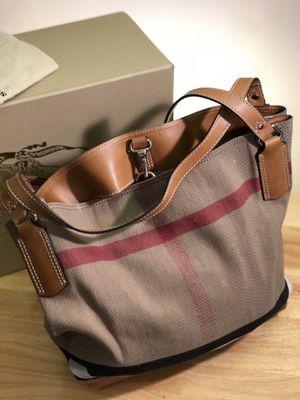 Burberry Canvas Check Medium Ashby Hobo Bag for Sale in Philadelphia, PA