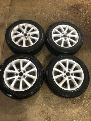 4 16 in 5x112 wheels rims and tires for Sale in Germantown, MD