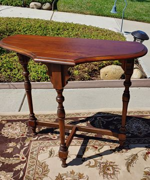 Antique half moon table for Sale in El Cajon, CA