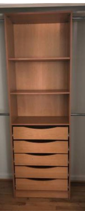 Closet storage shelves and drawers for Sale in Clinton, MD