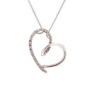 925 Diamond Necklace for Sale in Alexandria, VA