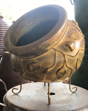 Terra-cotta cubana pot planter $59 ea. for Sale in Austin, TX