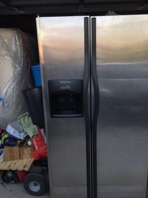 Refrigerator Frigidaire stainless steel for Sale in Hemet, CA
