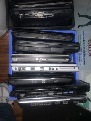 Laptops for repair or parts $5 each for Sale in Murfreesboro, TN