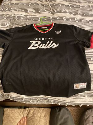 Bulls Mitchell & Ness Baseball Jersey Pullover for Sale in Fresno, CA