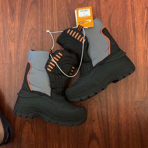 Kids Boys Girls Unisex Black Snow Boots 13 New for Sale in Norwalk, CA